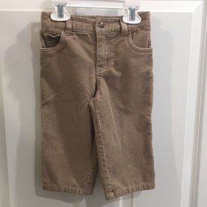 Baby/toddler corduroy pants